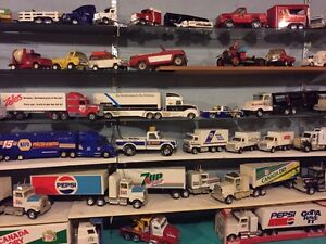 Scale vehicles,signs,many other collectibles