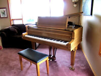 "Baldwin 5'8"" Grand Piano"