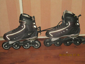 roller blades like new Nike size 91/2