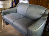 Compact loveseat without love stains