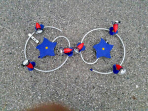 A 'stars and comets' themed children's ceiling light