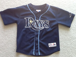 Tampa Bay Rays MLB Baseball Jersey – Kids Size Small