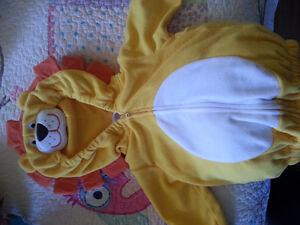 Lion Halloween costume /jacket