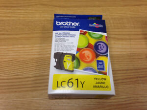 NEW* Brother Ink-1 Pkg LC61Y