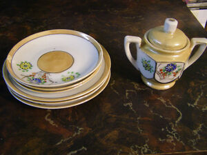Vintage Collection of Child's Toy Dishes