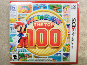 Mario Party: The Top 100 3DS Game - NEW