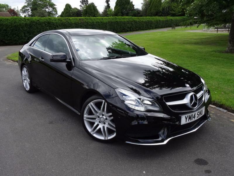 mercedes e class e250 amg sport coupe 2014 14 in ilford. Black Bedroom Furniture Sets. Home Design Ideas
