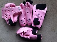 Giko pink sparring gear