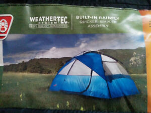 FOR SALE: COLEMAN 5-PERSON INSTANT DOME TENT