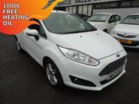 2013 Ford Fiesta 1.0 Zetec - White - 12 months PLATINUM WARRANTY!