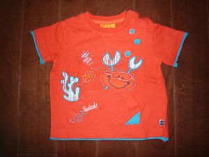Baby Boy Tops/Shirts (size 6-12 months)