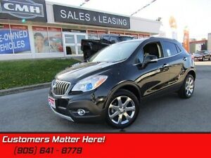 2016 Buick Encore Leather   NAV, BLUETOOTH, GREAT LOW CLICKS!