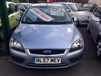 2007 FORD FOCUS 1.6 TURBO DIESEL NEW SHAPE £1795!!!!