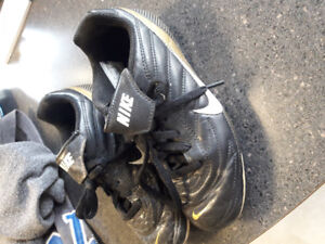 Soccer cleats size 1