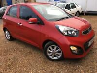 2013 '13' Kia Picanto 1.25 Picanto 2. Petrol. Manual. Cat D Repaired. Px Swap