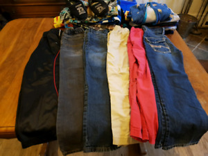Huge lot of boys size 8 to 10 clothing