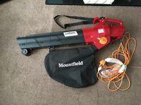 Mountfield leaf blower