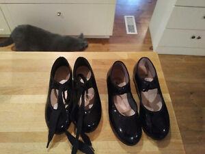 Capezio Tap Shoes size 10.5 Kitchener / Waterloo Kitchener Area image 1