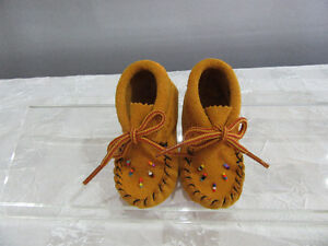 Moccasin - Baby - [size 2 only ]  Edmonton location Strathcona County Edmonton Area image 2
