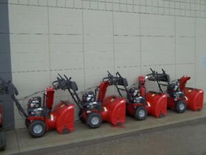 NEW - SNOWBLOWERS - JONSERED - SETUP READY TO GO
