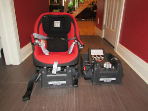 Peg Perego car seat with two bases