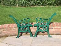 Cast Iron Decorative Bench Ends