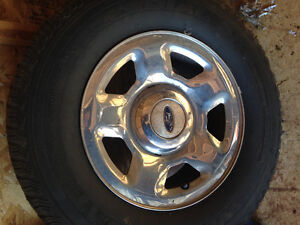 Studded tires on Ford Rims