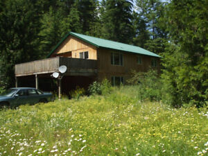 HOME AND LOG CABIN ON 149 ACRES