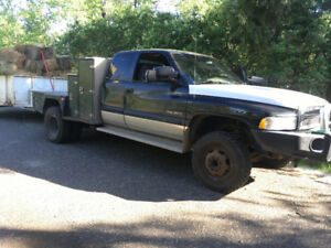 1998 Dodge 12 Valve Cummins Pickup Welding Truck