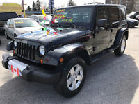 2008 Jeep Wrangler UNLIMITED SAHARA TRAIL RATED...EXCELLENT COND City of Toronto Toronto (GTA) Preview
