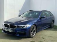 2018 68 BMW 5 SERIES 2.0 520I M SPORT TOURING 5D 181 BHP