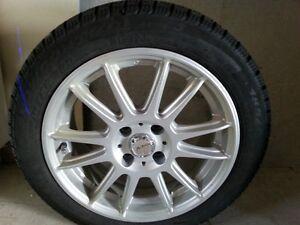 FIAT 500 - pneus d'hiver et jantes
