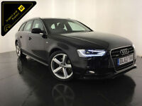 2012 62 AUDI A4 S LINE TDI QUATTRO AVANT 4WD 1 OWNER FINANCE PX WELCOME