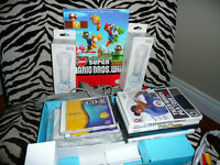 wii with lots of extras over 20+games