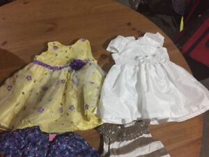 Three boxes of baby clothes (0 to 9months)