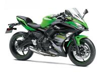 2018 KAWASAKI NINJA 650 KRT.650 DEPOSIT CONTRIBUTION ON PCP TILL 15TH SEP 18.