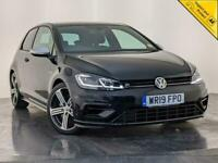 2019 VOLKSWAGEN GOLF R TSI AUTO 295 BHP HEATED SEATS 4X4 1 OWNER SERVICE HISTORY