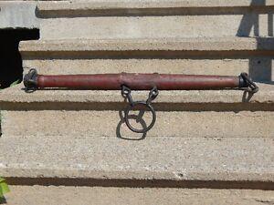 BACCUL ANTIQUE (vintage) en bois et métal à vendre