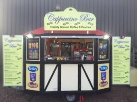 Coffee bar / catering trailer