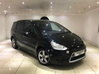 2010 FORD S-MAX 1.8 TDCI TITANIUM BLACK FACELIFT 7 SEATER TOP SPEC NOT GALAXY