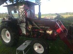 Tracteur international 454