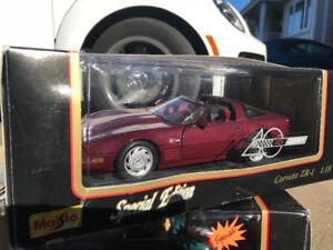Chevrolet Corvette zr1 Diecast 1/18 Die cast cast