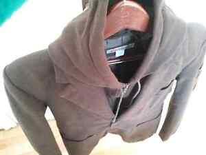 Like new!  Stylish fully-lined crossover jacket