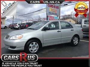 2004 Toyota Corolla CE, New 2 year Safety!