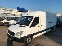 60 REG MERCEDES SPRINTER MWB HIGH ROOF 313 CDI SUPERB COND NO VAT LONG MOT !!!!!