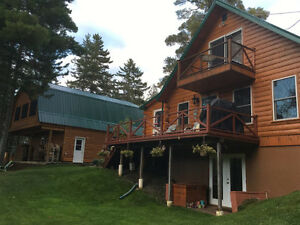 WHO DOESN'T LIKE CABINS, SALMON FISHING and HOT TUBS!!!???!!