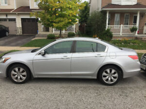HONDA ACCORD EX-L MANUAL 2009 LEATHER SUNROOF