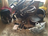 Icandy peach blossom full travel system in black jack