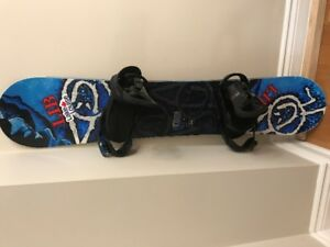 Youth / Kids Snowboard package with boots