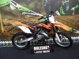 KTM SX 250 Motocross Bike Bill exhaust pipe
